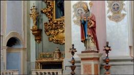 105 - Cesena. Interno Chiesa di S. Agostino, dettagli