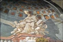 104 - Cesena. Interno Chiesa di S. Agostino.