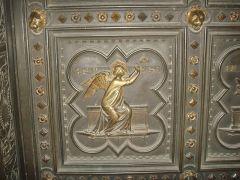 117 - Firenze. Battistero. Porta sud di Andrea Pisano, la speranza.