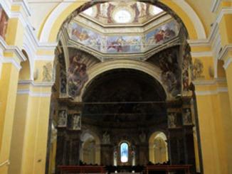 136 - Cesena - Abbazia di Santa Maria del Monte. ABSIDE--particolare
