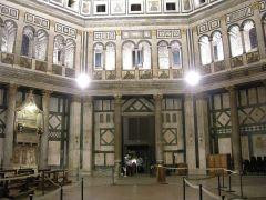 118 - Battistero di Firenze, interno , porta nord.