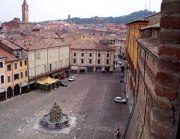 17 -Cesena. Piazza del Popolo, e la fontana Masini -
