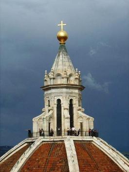 25 - Firenze. Grande-lanterna-della-cupola-del- Brunelleschi.