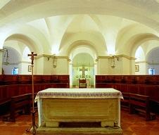 144 - Cesena - Cripta dell'Abbazia di Santa Maria del Monte.
