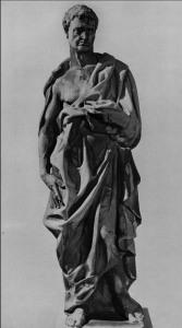 169 - Donatello Geremia scolpito dal 1423 al 1436 è alto 191cm .