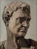 168 - Donatello. Geremia, particolare della testa