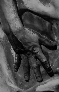 25 - Donatello. Geremia particolare della mano.