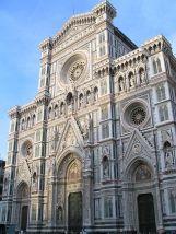 30 -Firenze. Facciata del Duomo.