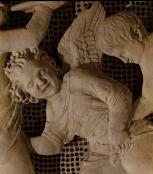165 - Il Museo dell'Opera del Duomo. Particolare Cantoria di Donatello. Putto danzante.