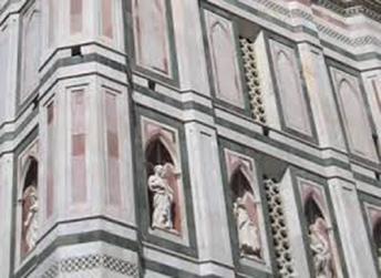 72 - Firenze. -Campanile di Giotto, particolari.