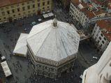 106 - Veduta di Piazza San Giovanni dal Campanile di Giotto
