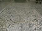 134 -Firenze. Il Museo dell'Opera del Duomo. Le due lastre marmoree a intarsio