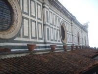 41 - Firenze. Santa maria del fiore, oculi della navata Gli occhi della navata centrale
