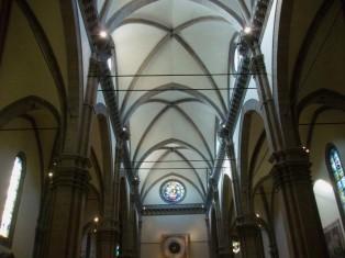 48- Firenze. Santa Maria del Fiore, interno.