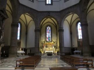 57 - Firenze. Santa Maria del Fiore. Tribuna centrale detta di San Zenobi.