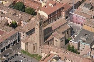 5 -Cesena- Piazza Giovanni Paolo II, Duomo o cattedrale di San Giovanni Battista