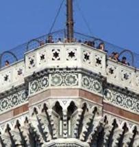 85 - Firenze. Terrazza del Campanile di Giotto -