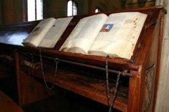 50 - Cesena - Interno Biblioteca Malatestiana.