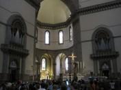 62 Firenze. Santa Maria del Fiore. Le due cantorie con il Grand'Organo (a sinistra) e l'Espressivo (a destra) dell'organo