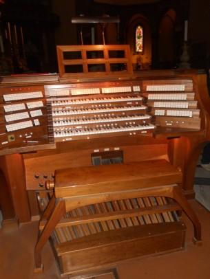 63 - Firenze, cattedrale di Santa Maria del Fiore, organo maggiore - Consolle principale