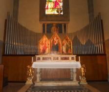 66 - Firenze, cattedrale di Santa Maria del Fiore, organo della Cappella della Madonna della Neve