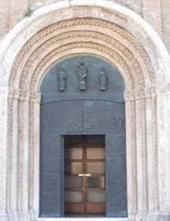 7 - Cattedrale San Giovanni Battista Cesena portale romanico