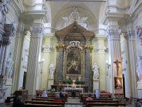 63 - Cesena, interno della Chiesa del Suffragio.