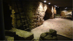 90 -Firenze. Cripta di Santa Reparata- dettaglio.