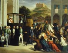 37 - Cesena Pinacoteca Comunale. L'entrata di Pio VII a Cesena di Enea Peroni.
