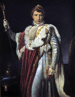 38 - Cesena Pinacoteca Comunale. Ritratto di Napoleone Bonaparte di Vincenzo Baldacci