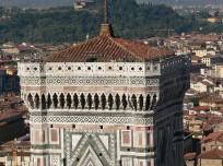 86 - Firenze - Terrazzo del campanile di Giotto.