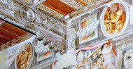26 - Cesena - Alcuni fregi del Palazzo Comunale.