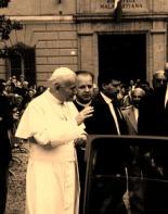 56 - Cesena - Papa Giovanni Paolo II alla Malatestiana nel 2009.