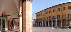 18 - Cesena - Porticato in Piazza del Popolo