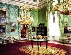 129 - Firenze. Palazzo Pitti - Appartamenti Reali - Sala Verde.