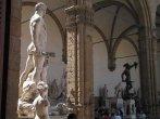 17 - Firenze. Le statue di piazza della Signoria