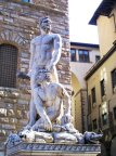 35- Firenze Piazza Signoria - L'Ercole e Caco.