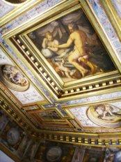 68 - Firenze. Palazzo Vecchio - Il soffitto della Sala di Ercole
