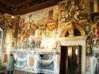 70 - Firenze. Palazzo Vecchio - Storie di Furio Camillo nella Sala dell'Udienza