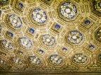71 - Firenze. Palazzo Vecchio - Il soffitto a cassettoni della Sala dell'Udienza