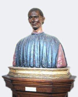 75 - Firenze. Palazzo Vecchio - Busto di Niccolò Machiavelli