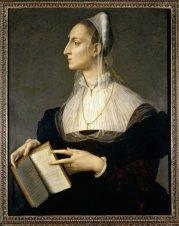 76 - Firenze. Palazzo Vecchio - Il mezzanino (Collezione Loeser)Angolo Bronzino, Ritratto di Laura Battiferri, collezione Loese