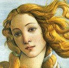 95 - Firenze. Galleria degli Uffizi - Sandro Botticelli particolare.