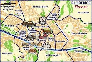 1- Mappa Firenze