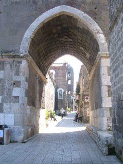 54 -Casertavecchia. Via San Michele Arcangelo.