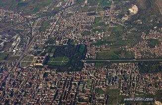 1 -Caserta. vista aerea