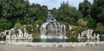 29 - Caserta. Reggia. La Fontana di Diana e Atteone e la Grande Cascata