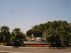 91 - Bari, fontana - piazza Aldo Moro