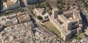 81 - Bari - Castello-Normanno Svevo dall'alto