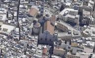 21 -Bari. Centro storico, la cattedrale di San Sabino vista dallìalto